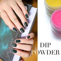 Wholesale new arrival OEM powder dip nails, dip powder container nail salon DIY dipping acrylic powder from china suppliers