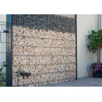 Wholesale 75x75MM Opening Welded Wire Gabions Mesh For Garden Decoration Wall from china suppliers