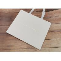 Wholesale Degradable Cloth Carrying Kraft Paper Packaging Bags With Hot Stamped Logo from china suppliers
