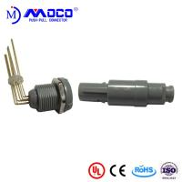 Wholesale 1P Grey Shell 8 Pin Circular Plastic Connector from china suppliers