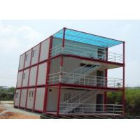 Buy cheap Multiple Function Prefab Flat Pack Containers Temporary Home / Office Portable from wholesalers