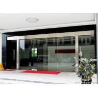 China Silver Sliding Entrance Door / Automatic Storefront Doors With Touch Switch on sale