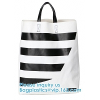 Wholesale Custom Printing Tear Proof Promotional Bag Washable Handbag Dry Bag Soft Handle Shoulder Bag Pack PVC With Zipper from china suppliers