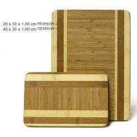 China Round Cutting Board Two Tone (TZC8404-2) on sale