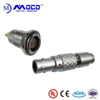 Wholesale 0B 2 pin male and female circular push pull connector for Infrared Camera from china suppliers