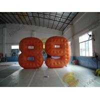 Wholesale Cold Air Advertising Inflatable Product Replicas / Custom Made PVC Number Balloons from china suppliers