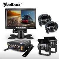 China High Definition Vehicle Camera Recording System 4G GPS For School Bus Trucks on sale