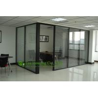Wholesale Aluminum Frame Fixed  Partition For Office With Louvers, Double Glazing from china suppliers