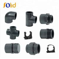 China High pressure electrical pvc pipe fittings on sale