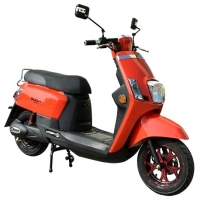 "Wholesale 12"" Wheel Brushless 40mph 800w 48v Electric Moped Scooter from china suppliers"