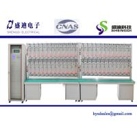 Wholesale Single Phase Meter Test Bench,48 calibrated energy meter, 0.001Amps~120Amps,30~300Volts from china suppliers