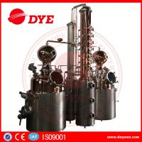 Wholesale 66 Gal Industrial Copper Distillery Equipment Vodka Copper Alcohol Distiller from china suppliers