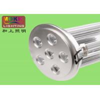 Wholesale Silver 98mm 6 * 2w Recessed Round Led Ceiling Light Fixture, Downlight With AC85 - 265V from china suppliers