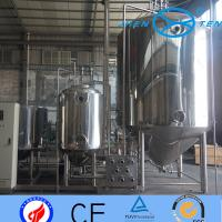 Wholesale Steam Electric Heating Stainless Steel Fermentation Tanks Dairy from china suppliers