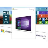 Wholesale Original Windows 10 Retail License , Windows 10 Professional Retail Version Easy Using from china suppliers