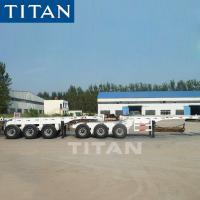 China China 3 axle 20/40ft interlink container terminal trailer for sale on sale