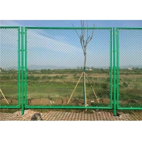Wholesale Baseball Ground Sports CE Diamond Pvc Coated Chain Link Fence from china suppliers
