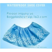 Wholesale Extra Thick Disposable Shoe & Boot Covers | Durable & Water Resistant Booties | Anti-Slip | One Size Fits Most from china suppliers