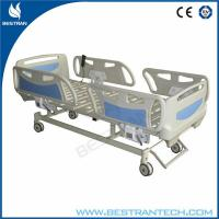 China Remote Handset Control Electric Medical ICU Hospital Beds , Central-Controlled on sale