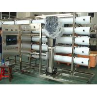 China PET Glass Bottle RO Water Treatment Systems in Stainless Steel , Water Treatment Filter on sale