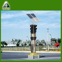 Wholesale Solar portable traffic light, movable traffic light from china suppliers