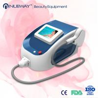 Wholesale portable Most popular ! 808nm diode laser hair removal machine permanent, fast , no pain from china suppliers