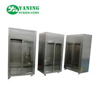 Quality Class 100 Laminar Flow Clean Wardrobe / Clean Locker 304 SS For Clean Room Suit for sale