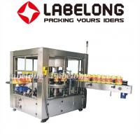 Wholesale Silver Grey Automatic Labeling Machine For Round And Square Bottles from china suppliers