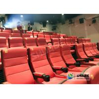 Wholesale Safety 4D Movie Theater Equipment With Special Effect And Soft Sliver Screen from china suppliers