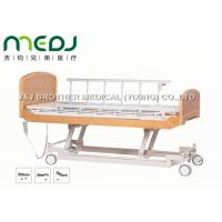 Wholesale Semi Fowler Electric Hospital Bed MJSD04-09 Nursing Bed With Wood Board from china suppliers
