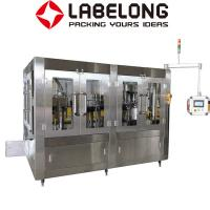 Wholesale 1 Liter Water Bottle Filling Machine , 2000-3000BPH 3 In 1 Water Filling Machine from china suppliers