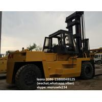 Wholesale 2 Stages Used Tcm Diesel Operated Forklift FD250 Isuzu Engine Ce Passed from china suppliers