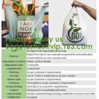 Wholesale Tougher Stronger Market Bags, freezer Eco Friendly Pla Compostable Corn Starch Garbage Bag Rubbish/Trash Bag Biodegra from china suppliers