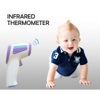 Wholesale LCD Digital Medical Grade Forehead Infrared Thermometer Baby 3 Colors Backlight from china suppliers