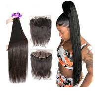 Wholesale 40 Inches Silky Straight Hair Indian Natural Hair Extensions For Black Women from china suppliers