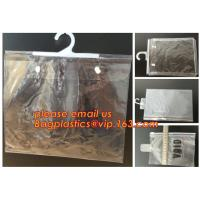 Wholesale biodegradable Clothes Underwear PVC Packaging Bag With Hook Display Bikini Swimwear Bag, Environmental from china suppliers
