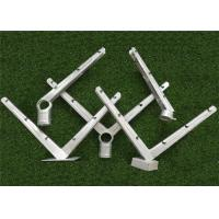 Wholesale Galvanized V Shape Barbed Wire Extension Arm Six Strands For Security Fence from china suppliers