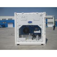 Wholesale White Refrigerated Shipping Container With Carrier Machinery 5ft/10ft/20ft/40ft from china suppliers