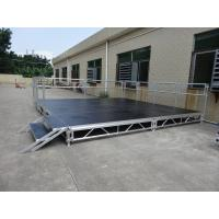 Wholesale RK Height adjustable aluminum  stage for trade show from china suppliers