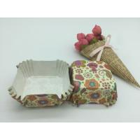 Wholesale Food Safe PET Paper Baking Cups Disposable Cute Special Pattern For Cupcake / Bread from china suppliers