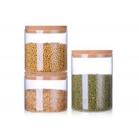 Wholesale 2L 2.5L 3.5L Blown Wide Mouth Glass Jars , Ball Wide Mouth Canning Jars from china suppliers