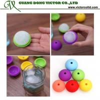 Wholesale Colorful Silicone ice ball mould 4.5cm Food grade high quality wholesales silicone mould red yellow green blue from china suppliers