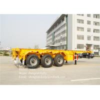 China High bearing capacity 3 Axles 40ft ISO Container Chassis FOR Truck Semi Trailer on sale
