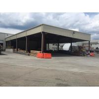 Wholesale Extra Warehouse Steel Structure For Stocking With Normal Paint Plus Color Steel Panels from china suppliers
