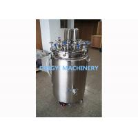Wholesale 200-350L Capacity Stainless Steel Storage Tanks SS316L / SS3004 Material  from china suppliers