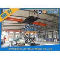 Buy cheap 3T 8M Hydraulic Scissor Car Parking Lift Hydraulic Car Lift for Home Garage from wholesalers
