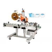 Wholesale Flat Self Adhesive Sticker Labeling Machine For Surface Labeling Of Boxes / Lids / Bags from china suppliers