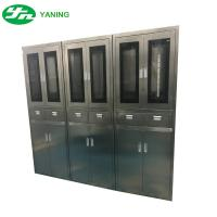 Wholesale Stainless Steel Hospital Cabinets With Drawer , Operating Room Storage Cabinets from china suppliers