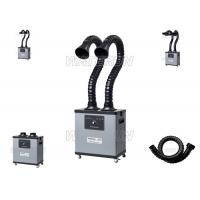 Wholesale Low Noise Double Arm Portable Fume Extractor 75mm Duct For Medical Field from china suppliers