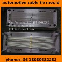 China plastic injection mould for nylon automotive auto car zip cable ties on sale